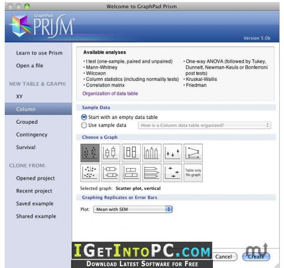 graphpad prism 4 free download mac