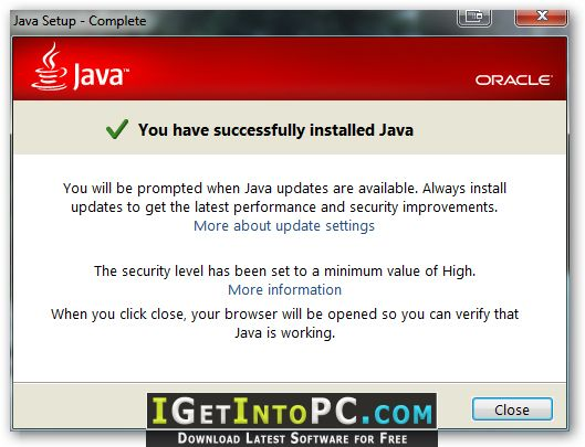 Java Runtime Environment 7 / 8 / 9 / 10 / 11 JRE Free Download