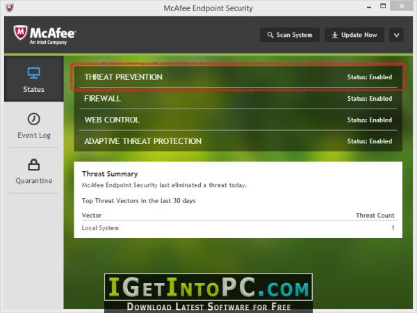 mcafee total protection offline installer