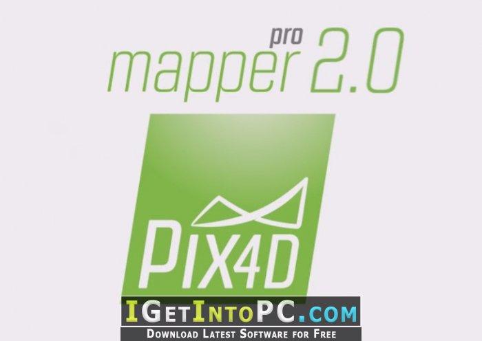 Pix4D Pix4Dmapper Pro 2 0 104 MacOS Free Download