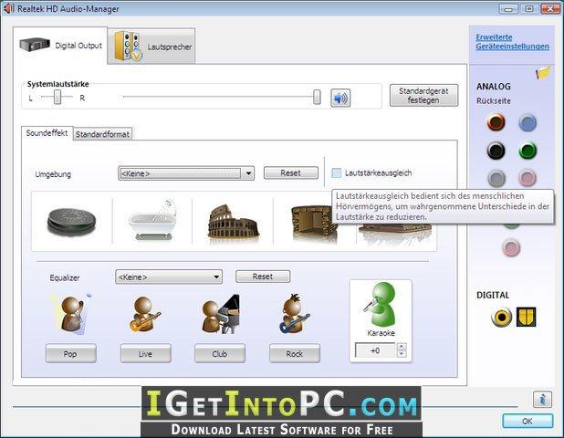drivers realtek high definition audio windows 10 64 bits