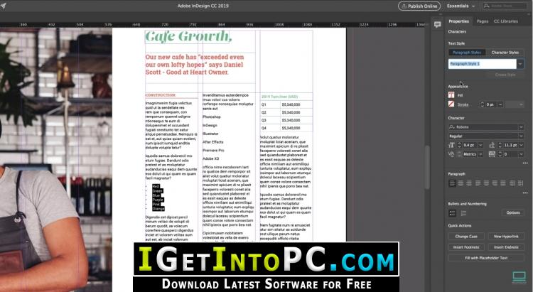 how to use adobe indesign for free
