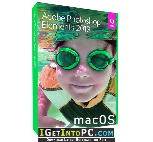 Adobe Photoshop Elements 2019 macOS Free Download