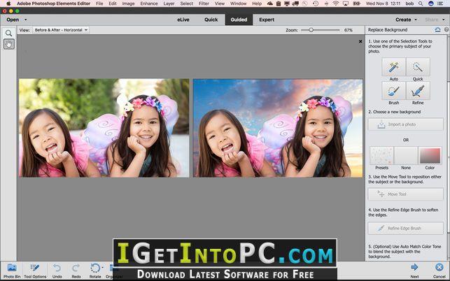 free adobe photoshop elements for mac