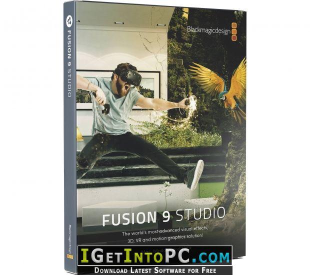 BlackMagic Design Fusion 9 Studio Free Download