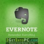 Evernote 6.15 Windows and macOS Free Download