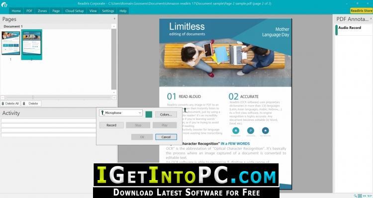 Iris readiris pro 17 windows download 459398 b&h photo video.