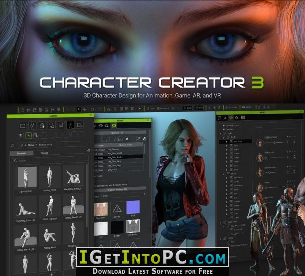 Reallusion character creator 3 pipeline free download for Rendering 3d gratis