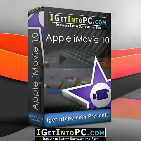 Apple iMovie 10 Free Download macOS