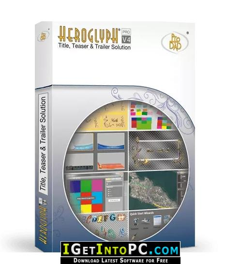 ProDAD Heroglyph 4 Free Download
