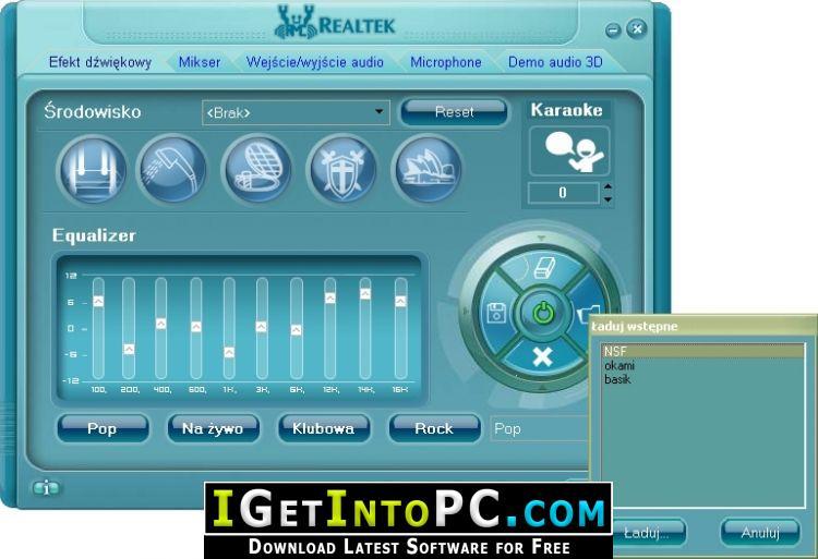 realtek for windows 10 32 bit