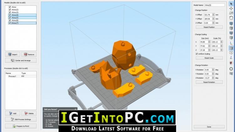 simplify 3d free