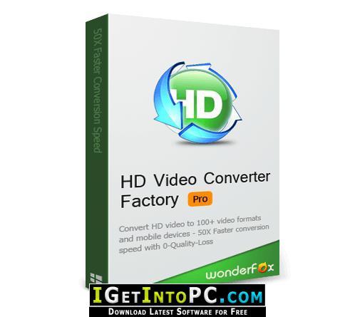 WonderFox HD Video Converter Factory Pro 17 Free Download