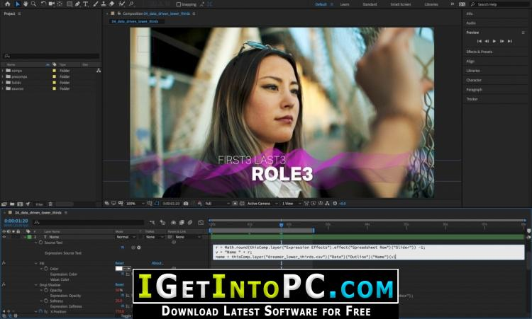Adobe After Effects CC 2019 16 0 1 48 Free Download
