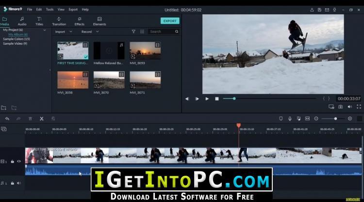 filmora for linux