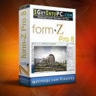 Form-Z Pro 8.6.4 Build 10237 Free Download