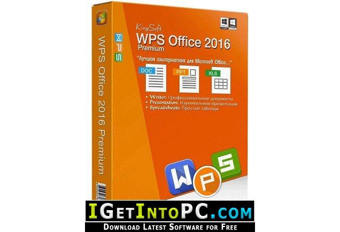 WPS Office 2016 Premium 10 2 0 7635 Free Download