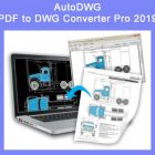 AutoDWG PDF to DWG Converter Pro 2019 Free Download