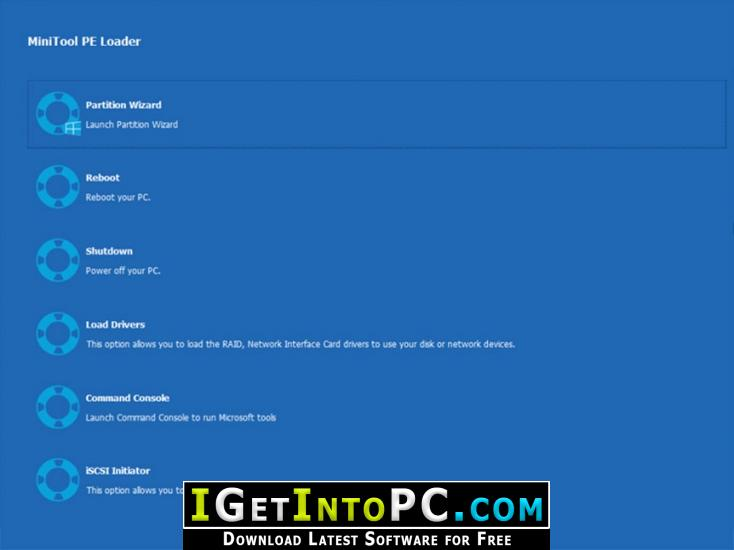 MiniTool Partition Wizard Technician 11 WinPE ISO Free Download