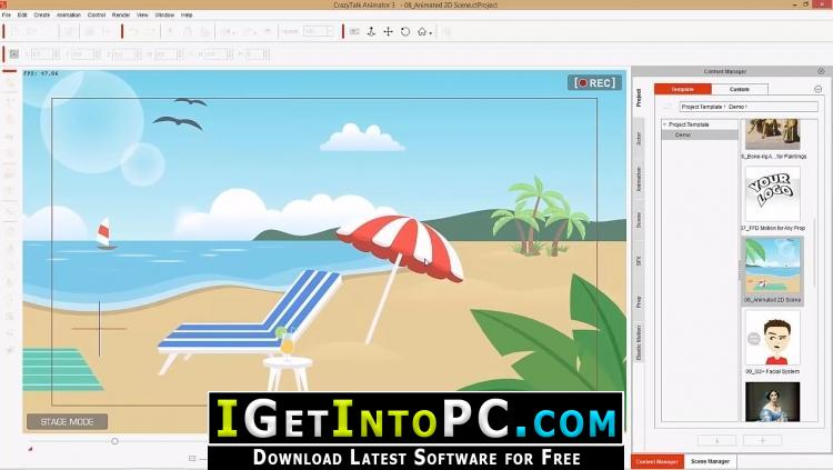 CrazyTalk Animator 3 31 3514 2 Pipeline Free Download