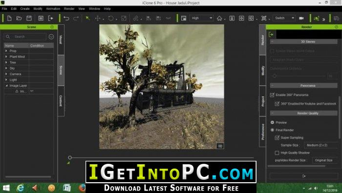 Reallusion iClone Pro 7 41 2525 1 Free Download with Resource Pack