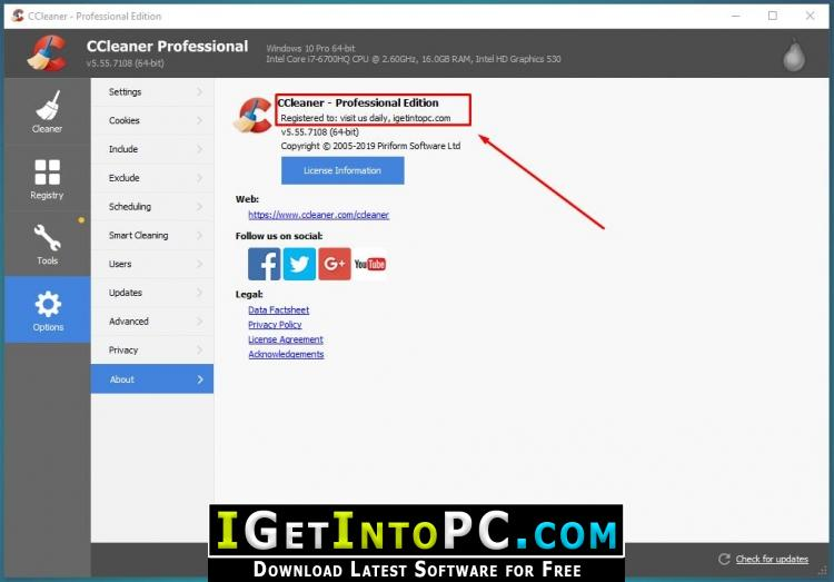 download ccleaner pro pc gratis