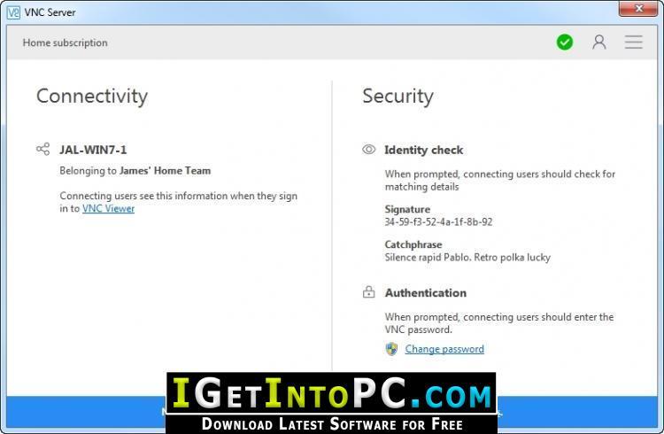 VNC Connect RealVNC Enterprise 6 4 1 Free Download