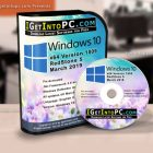 Windows 10 Pro RS5 1809 Updated March 2019 Free Download