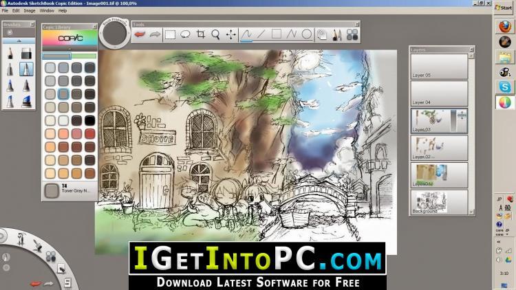 Autodesk Sketchbook Pro 2020 Free Download