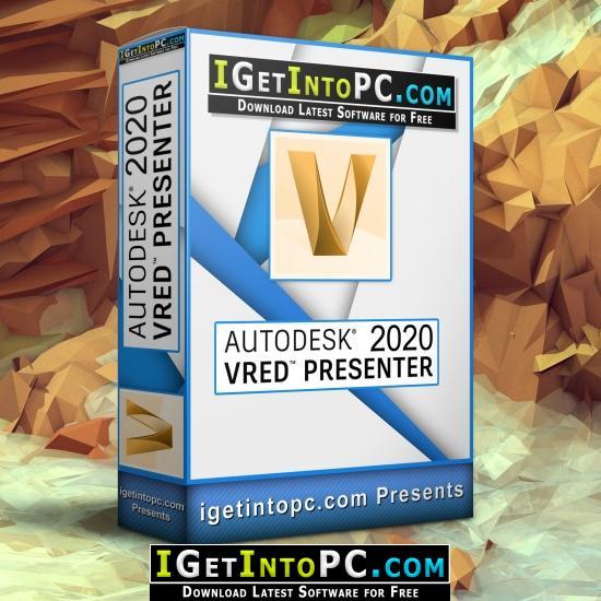Autodesk VRED Presenter 2020 Free Download