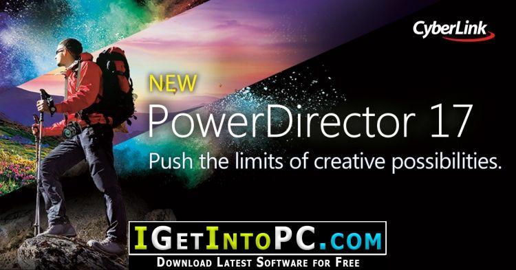 CyberLink PowerDirector Ultimate 17 0 2720 0 Free Download