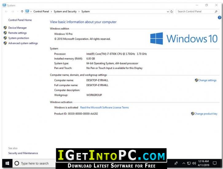 windows 10 1809 iso download