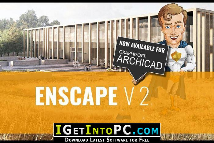 Enscape3D 2 5 1 9 for Revit SketchUp Rhino ArchiCAD Free Download