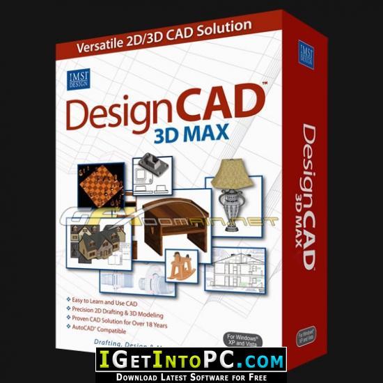IMSI DesignCAD 3D Max 2018 Free Download
