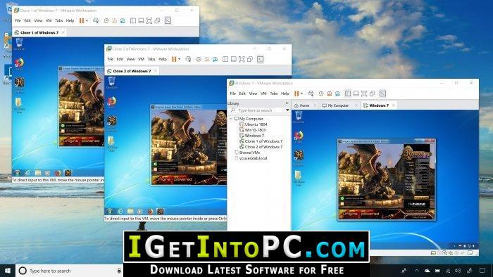VMware Workstation Pro 15 1 Free Download
