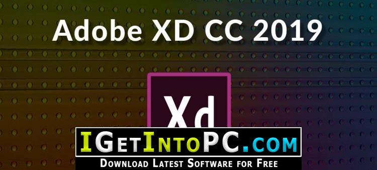 Adobe XD CC 2019 Version 22 Free Download