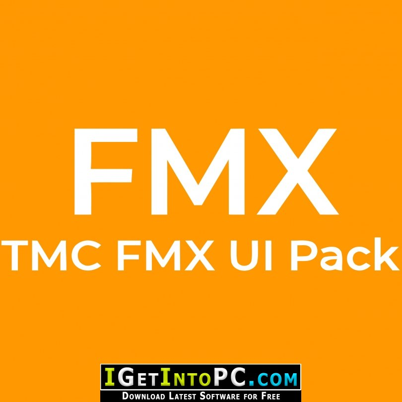 TMS FMX UI Pack 3 Source Code with Demos Free Download