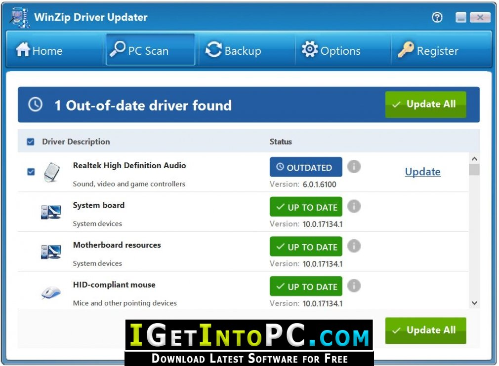 Winzip Driver Updater 5 Free Download