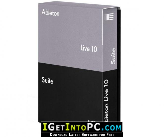Ableton Live Suite 10 1 3 Free Download Windows and macOS
