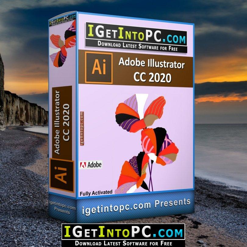 Adobe illustrator 2020 مفعل يدعم