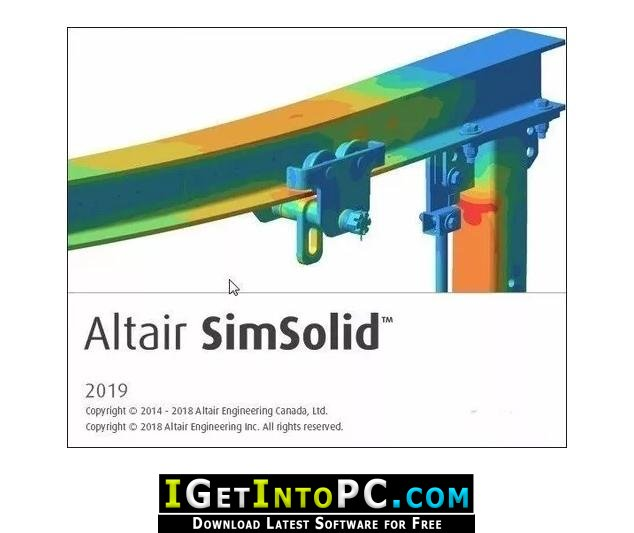 Altair SimSolid 2019 Free Download