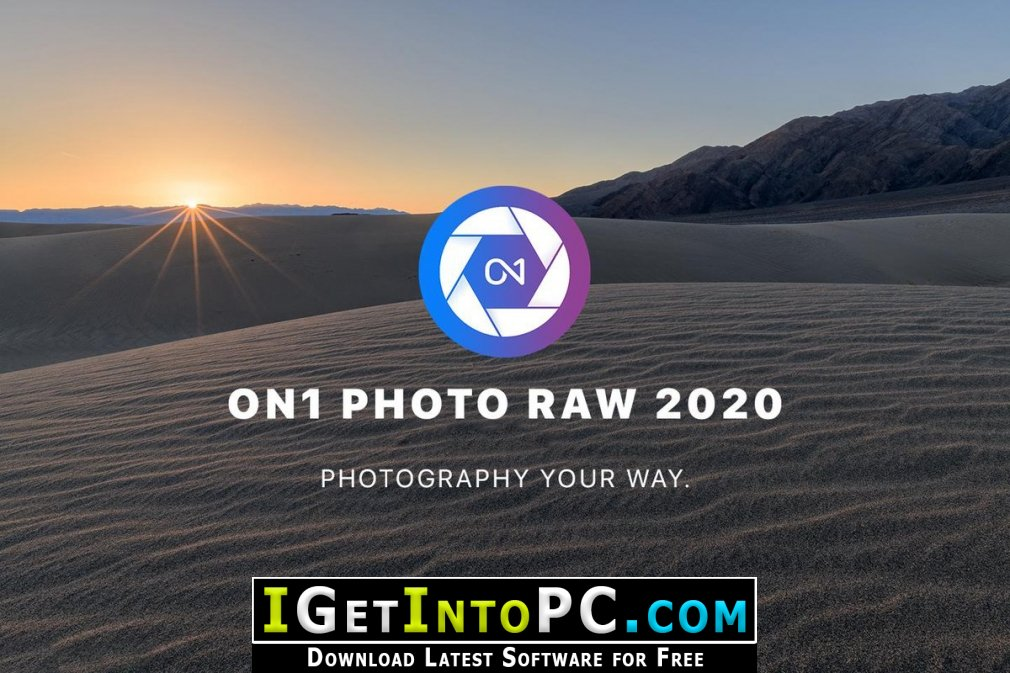 ON1 Photo RAW 2020 Free Download Windows and macOS