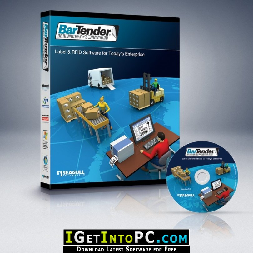 Bartender Enterprise 2019 Free Download