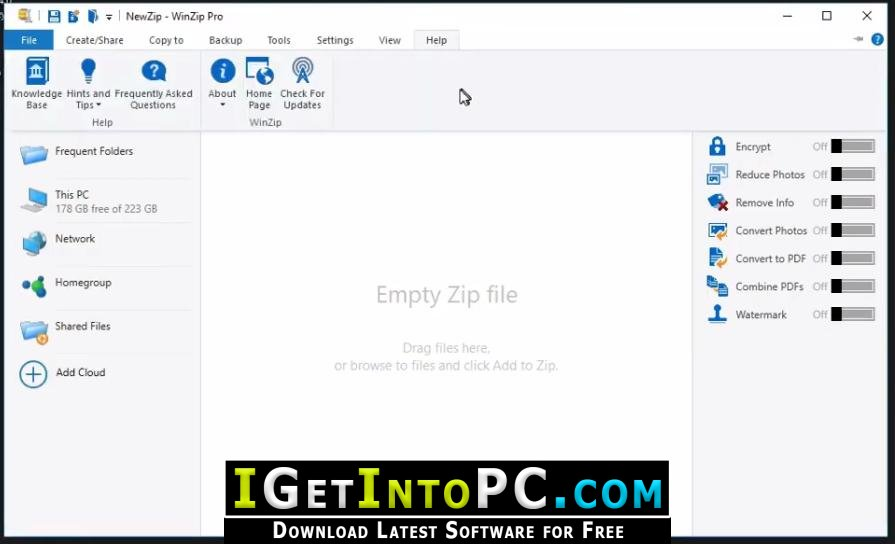 How to get free winzip