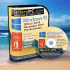 Windows 10 Pro with Office 2019 December 2019 Free Download
