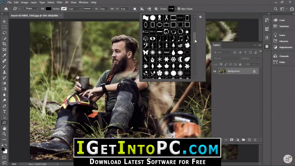 Adobe Photoshop CC 2020 Portable Free Download