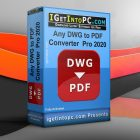 Any DWG to PDF Converter Pro 2020 Free Download