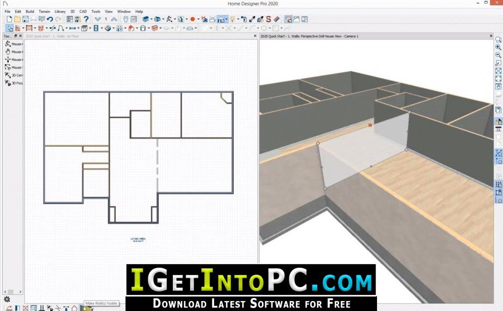 Home Designer Pro 2021 Free Download